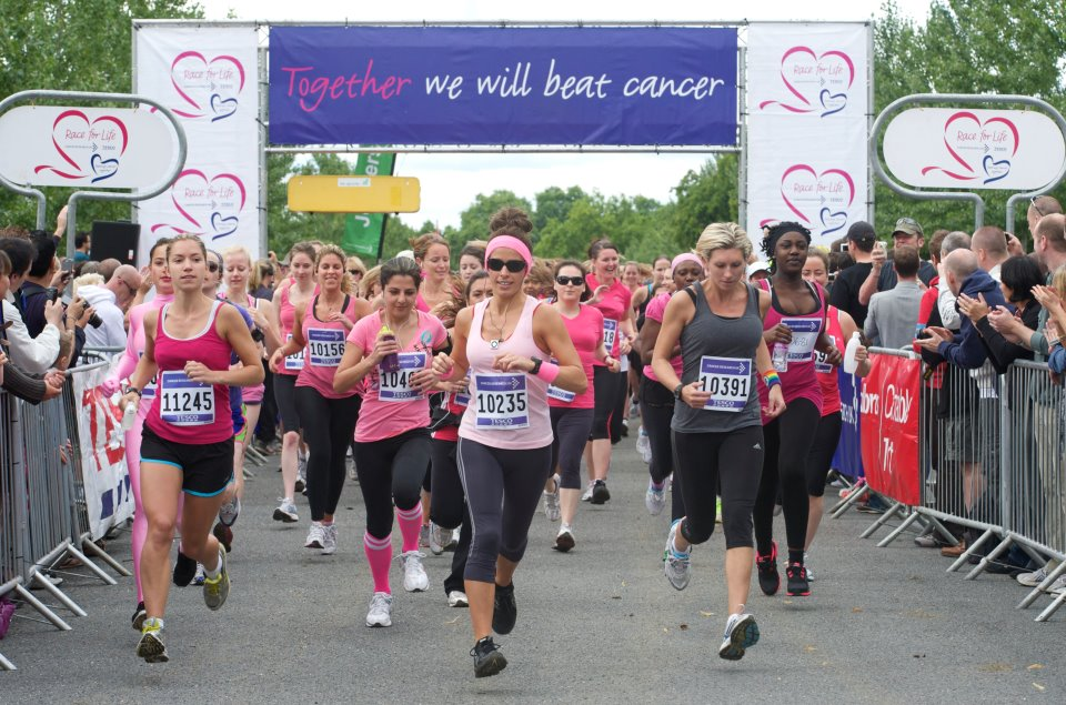 Race For Life: Let's Kick Cancer's Ass! | The Cocoa Diaries